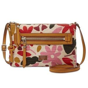 FOSSIL Bag Fabric Mini Crossbody Dawson Floral